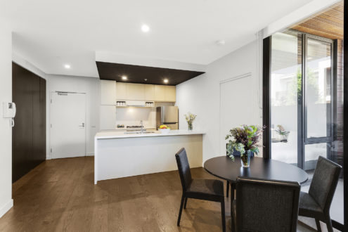 Three Bedroom Apartment - Kitchen / Dining